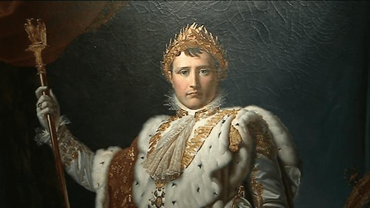 """Exposition """"Napoléon - Images de la légende"""" à découvrir au musée des Beaux-Arts d'Arras. Les oeuvres présentées proviennent du château de Versailles à l'image de celle-ci : """"Napoléon Ier empereur des français""""  (France 3)"""
