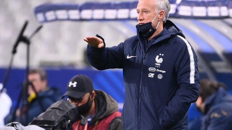 Didier Deschamps favorable à une liste de joueurs élargie en vue de l'Euro (FRANCK FIFE / AFP)