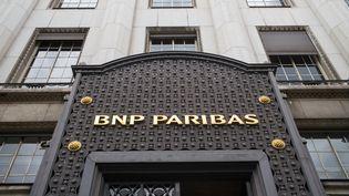 Le siègede la banque BNP Paribas, à Paris, le 28 juin 2016. (PETER KNEFFEL / DPA / AFP)