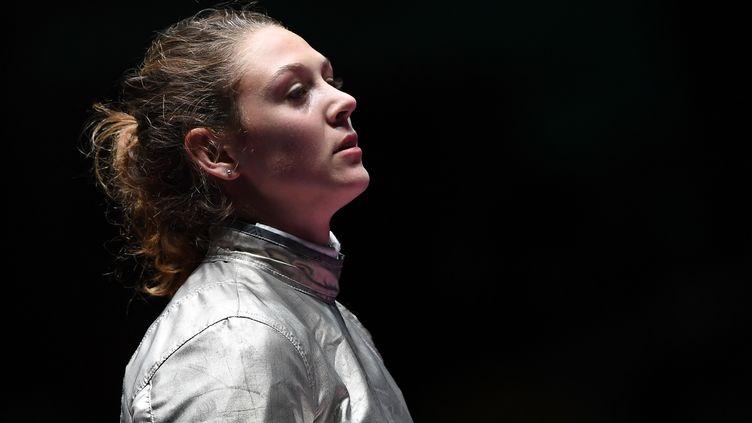 Manon Brunet visera le podium à Tbilissi (KIRILL KUDRYAVTSEV / AFP)