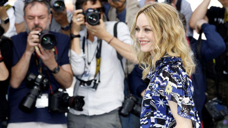 Vanessa Paradis sera la présidente du jury de ce 46e Festival de Deauville (ici, lors du 71e Festival de Cannes en mai 2018). (DAVE BEDROSIAN/GEISLER-FOTOPRESS / GEISLER-FOTOPRESS)