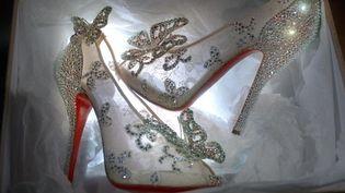 Les souliers de Cendrillon vus par Christian Louboutin.  (Christian Louboutin)