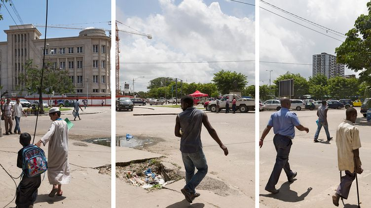 """Praça do Metical, Mozambique"", 2017 (GUY TILLIM, COURTESY OF STEVENSON, CAPE TOWN AND JOHANNESBURG)"