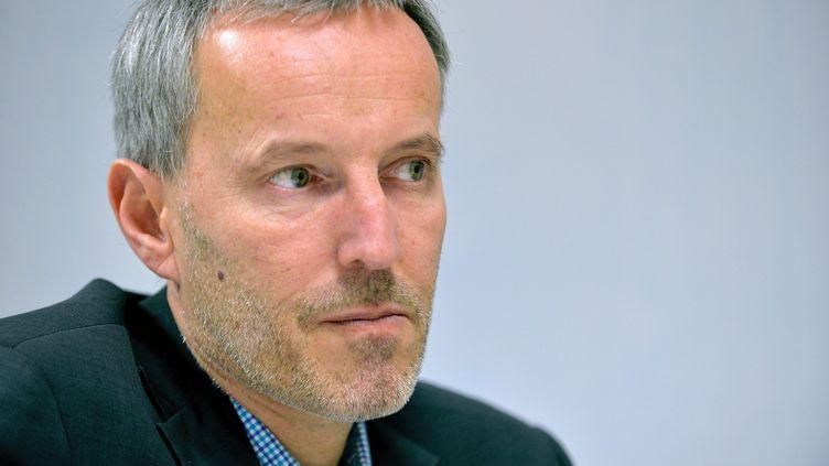 """Gérard Davet, journaliste au """"Monde"""" était l'invité de franceinfo jeudi 29 mars. (MAXPPP)"""