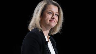 La ministre de la Transition écologique lors d'une émission sur BFMTV le 24 janvier 2021 (ARNAUD JOURNOIS / MAXPPP)