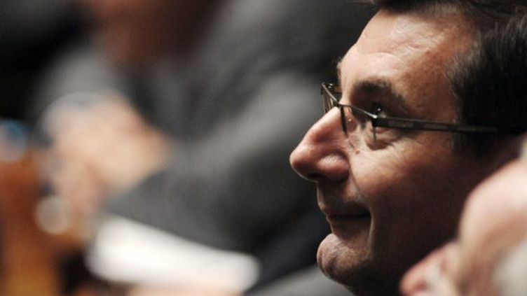 Jean-François Lamour, député UMP du XVe arrondissement de Paris, le 27 octobre 2009, à l'Assemblée. (OLIVIER LABAN-MATTEI / AFP)