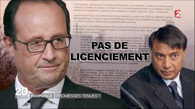 Florange : François Hollande a-t-il tenu ses promesses ?