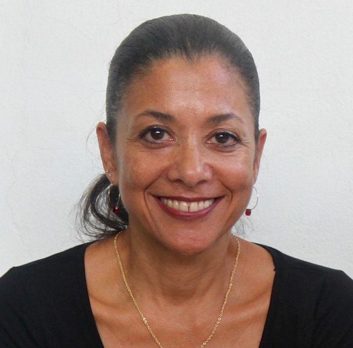 """Milena Sandler à Port-au-Prince """"90% des constructions post-tremblement de terre l'ont été sans permis de construire! Le gouvernement n'a mis en place aucune surveillance ni aucune supervision"""" (Photo NADIA TODRES)"""