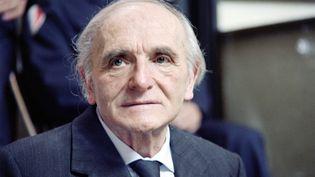 Klaus Barbie a été reconnu coupable de 17 crimes contre l'humanité par la cour d'assises du Rhône en 1987. Les archives de ce procès sont désormais consultables par les chercheurs. (STF / AFP)