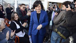 La ministre déléguée aux Personnes handicapées et à la Lutte contre l'exclusion, Marie-Arlette Carlotti, le 21 mars 2013 à Marseille. (GERARD JULIEN / AFP)