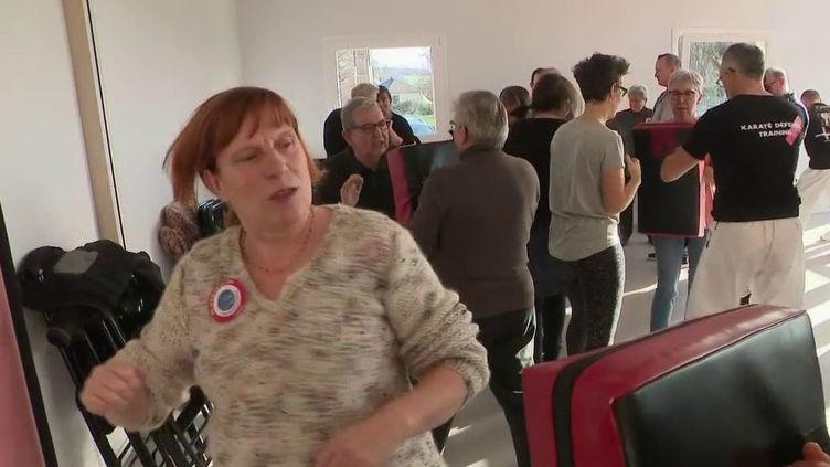 Eure : des cours d'autodéfense pour les élus (CAPTURE ECRAN FRANCE 2)
