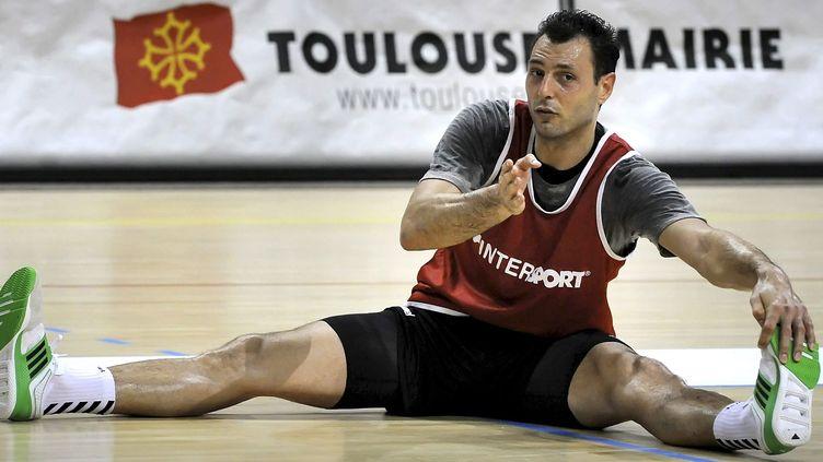 Jérôme Fernandez à l'entraînement avec Toulouse en 2011