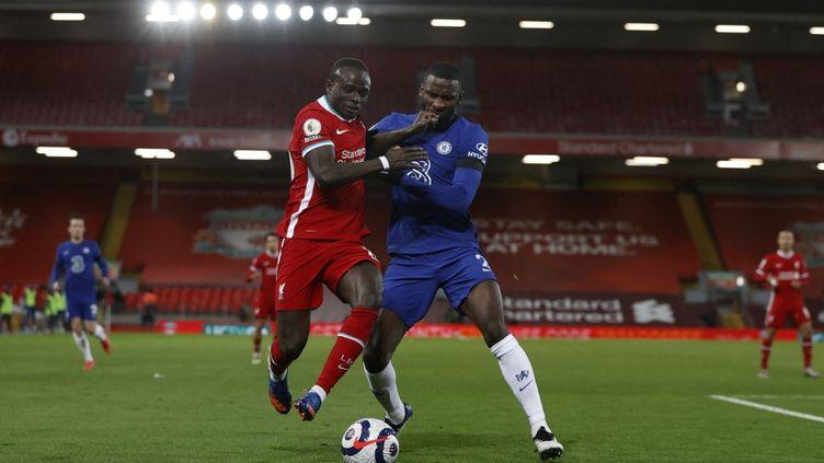 Mané et ses partenaires n'ont pas trouvé la faille dans la défense de Chelsea  (PHIL NOBLE / POOL)