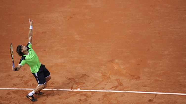 Le joueur espagnol David Ferrer