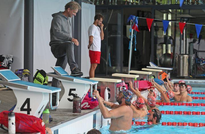 Licencié à Mulhouse jusqu'en 2012 l'ancien champion olympique Amaury Leveaux y est revenu cette saison. (DAREK SZUSTER / MAXPPP)