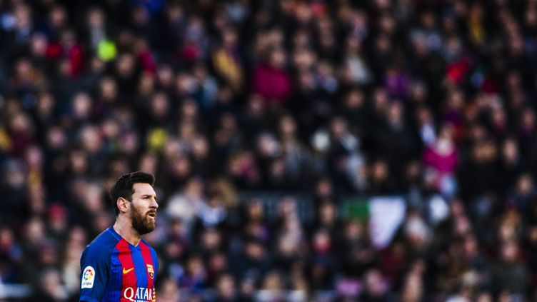 Le joueur du FC Barcelone, Lionel Messi (XAVIER BONILLA / NURPHOTO)