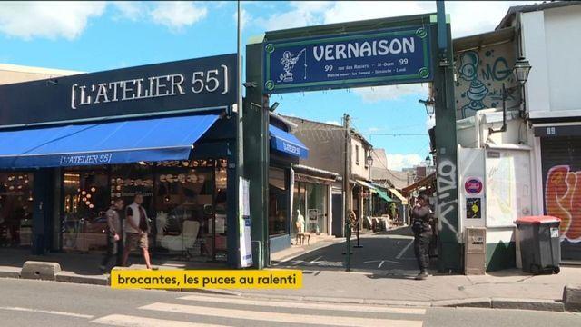 Saint-Ouen : le monde des antiquités et des brocantes au ralenti