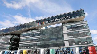 Le siège de France Télévisions, le 4 septembre 2017, à Paris. (LUDOVIC MARIN / AFP)