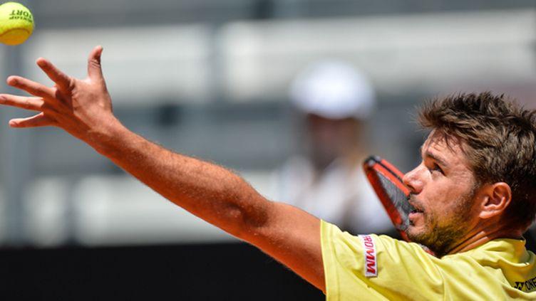 Le Suisse Stanislas Wawrinka (ANDREAS SOLARO / AFP)
