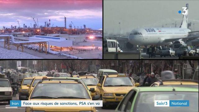 Les Etats-Unis poussent PSA, Total ou Airbus à quitter l'Iran