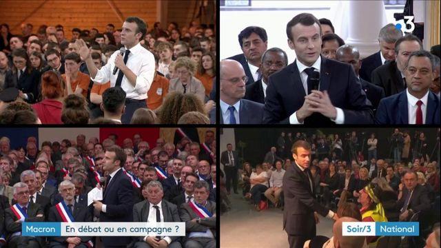 Grand débat national : Macron en profite-t-il pour faire campagne pour les européennes ?