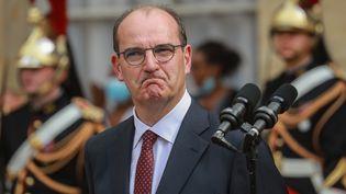 Le Premier ministre, Jean Castex, le 3 juillet 2020 à Matignon. (LUDOVIC MARIN / AFP)