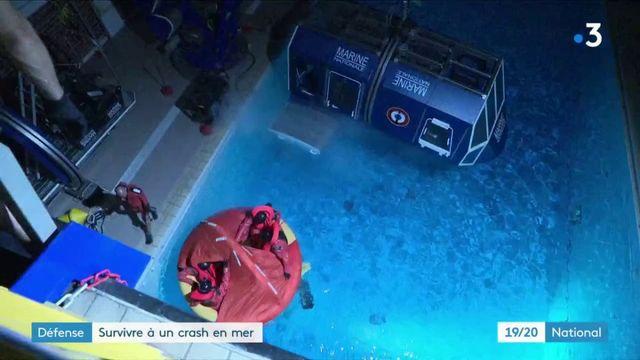 Défense : survivre à un crash en mer