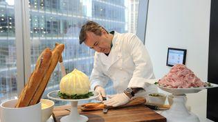 Le chef cuisinier français Daniel Boulud à New York, le 11 avril 2016 (CRAIG BARRITT / GETTY IMAGES NORTH AMERICA / AFP)