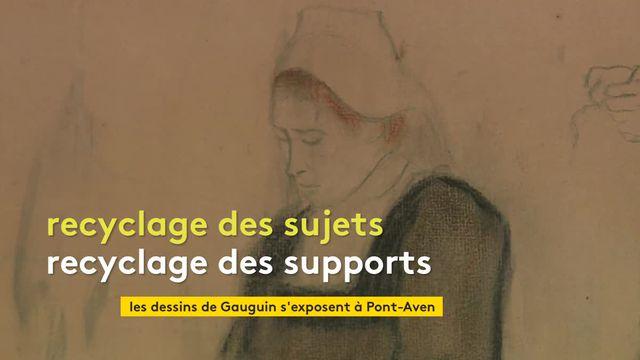 Expo dessins de Gauguin à Pont Aven
