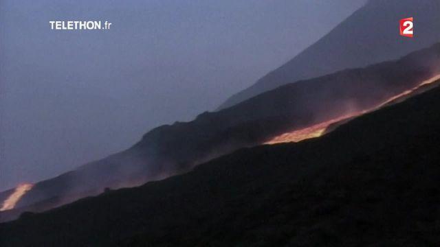 Etna : la plus grosse éruption du volcan depuis 20 ans