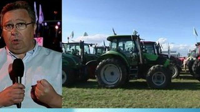 Les agriculteurs veulent bloquer Paris
