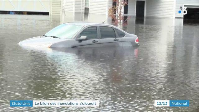 États-Unis : le bilan des inondations s'alourdit