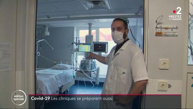 Covid-19 : les cliniques se préparent aussi