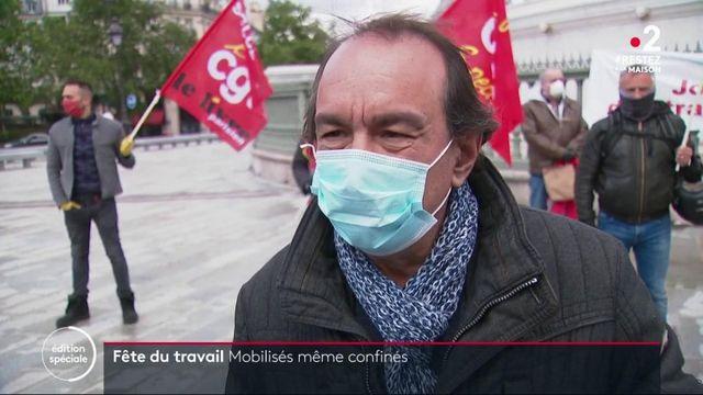 Confinement : manifestations détournées pour les militants du 1er mai