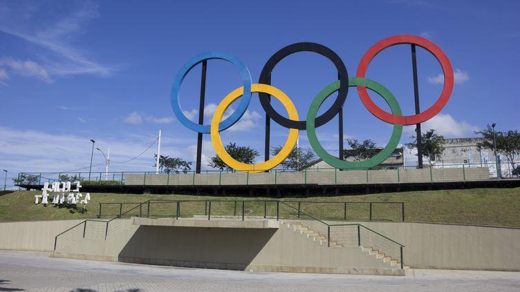 Les anneaux olympiques à Rio (LUIZ SOUZA / NURPHOTO)