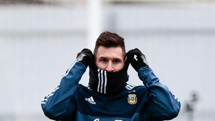 Messi avec l'Argentine