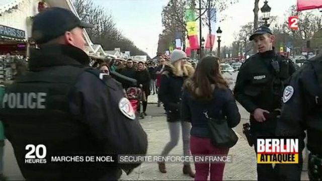 Marchés de Noël : la sécurité renforcée en France