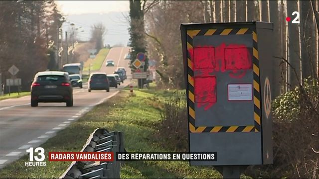 Radars vandalisés : comment vont se passer les réparations ?