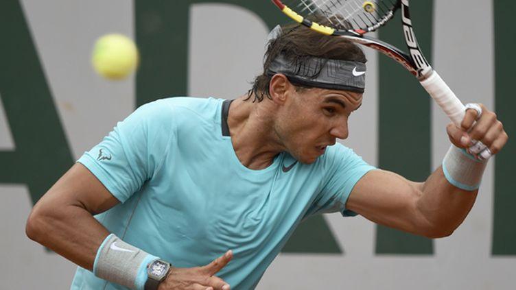 Nadal n'a pas tremblé pour son premier tour de ce Roland-Garros 2014