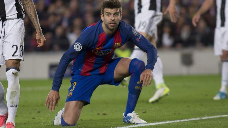 Le défenseur barcelonais Gerard Pique (ALBERT LLOP / ANADOLU AGENCY)