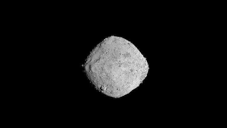 L'astéroïde Bénou photographié par la Nasa, le 16 novembre 2018. (HO / NASA/GODDARD/UNIVERSITY OF ARIZO)