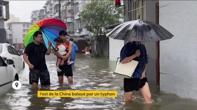 Chine : un puissant typhon touche l'est du pays