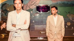 David et Stephen Dewaele, les deux frères du duo belge Soulwax. (Rob Walbers)