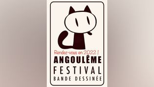 L'affiche de report du festival international de la bande dessinée d'Angoulême diffusée sur la page Facebook du maire de la ville (FIBD ANGOULÊME)