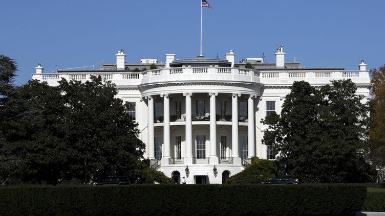 La Maison Blanche, siège du pouvoir américain. (LAUNETTE FLORIAN / MAXPPP)