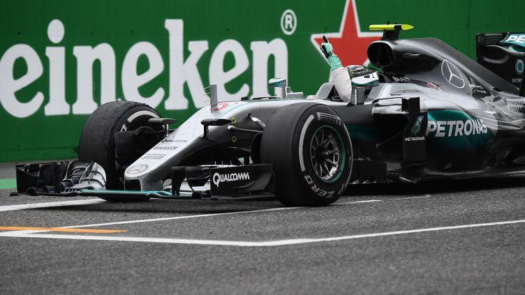 Nico Rosberg vainqueur sur le Grand Prix d'Italie
