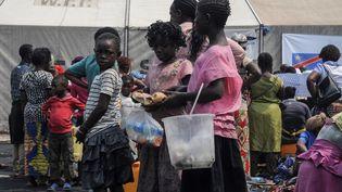 A Goma (République démocratique du Congo), le 3 juillet 2017. (FISTON MAHAMBA / AFP)
