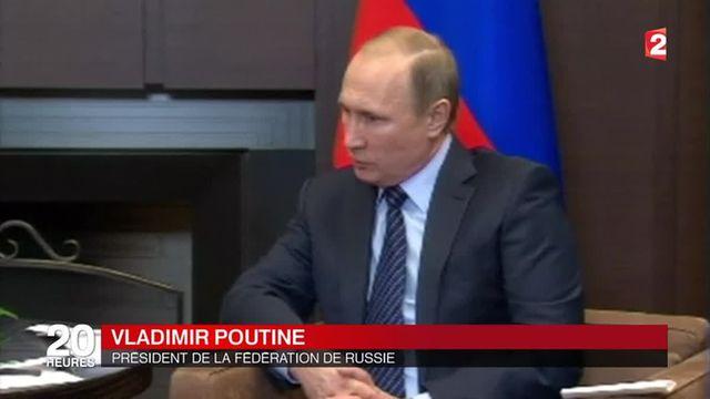 """Avion russe abattu par la Turquie : """"un coup de poignard dans le dos"""" selon Vladimir Poutine"""