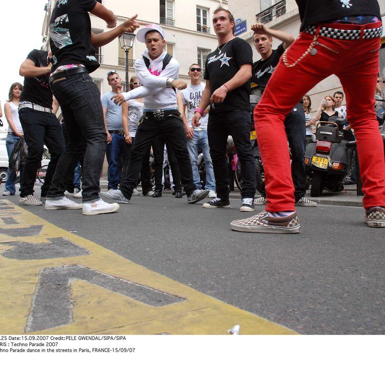 La Techno Parade 2007 était au cœur de l'engouement pour la Tecktonik. (PELE / SIPA)