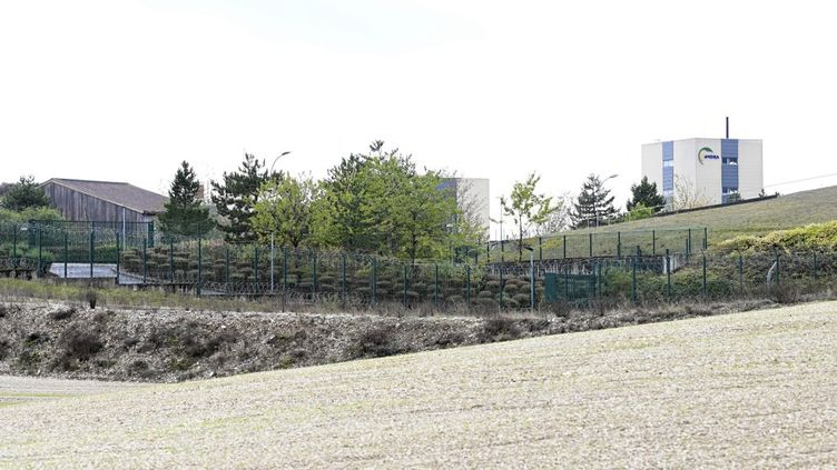Le site du projet Cigéo, le 7 octobre 2020 à Bure (Meuse). (JEAN-CHRISTOPHE VERHAEGEN / AFP)
